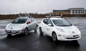 Nissan Leaf побил рекорд Великобритании.